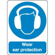 Mandatory Safety Sign - Wear Ears Protection 173